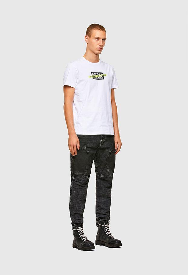 T-DIEGOS-A3, White - T-Shirts