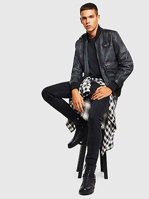 L-OIUKI,  - Leather jackets