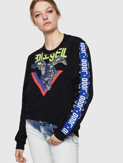 Diesel - F-LYANYDY, Black - Sweaters - Image 1