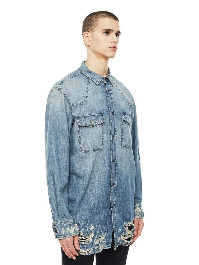 Diesel - SUVER-D, Blue Jeans - Shirts - Image 5