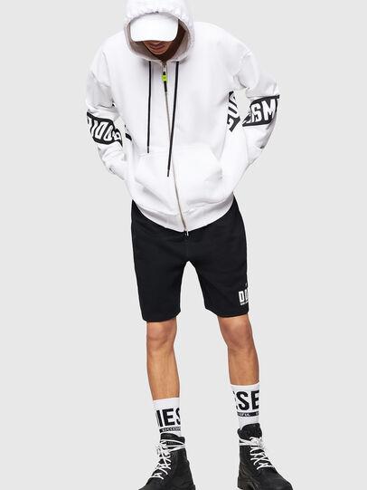 Diesel - P-ALF-SHORT, Black - Shorts - Image 4