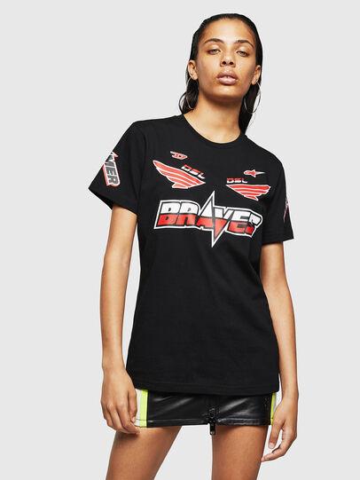 Diesel - ASTARS-T-DIEGO-FL, Black - T-Shirts - Image 1
