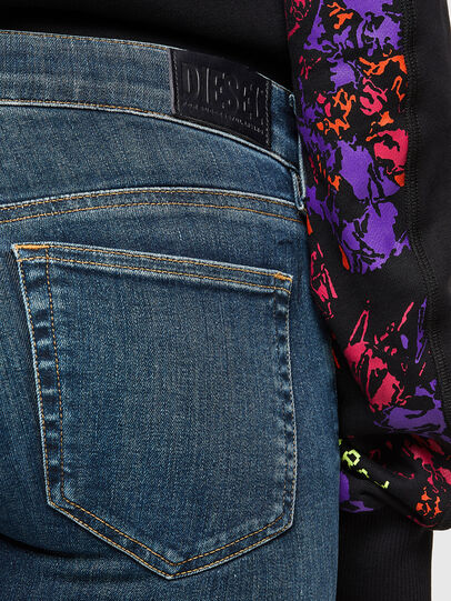 Diesel - Slandy Low 069TR, Dark Blue - Jeans - Image 4