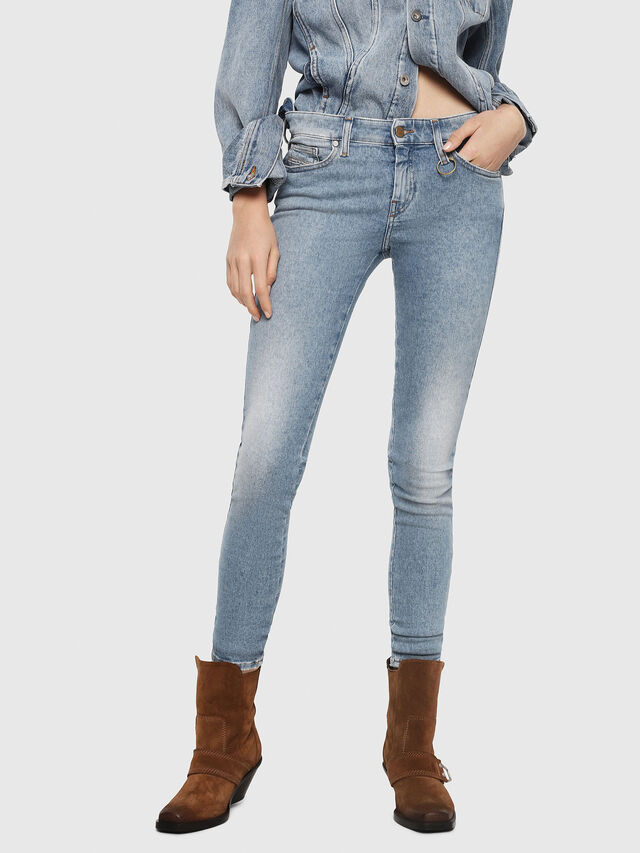 Diesel - Slandy 085AC, Light Blue - Jeans - Image 1