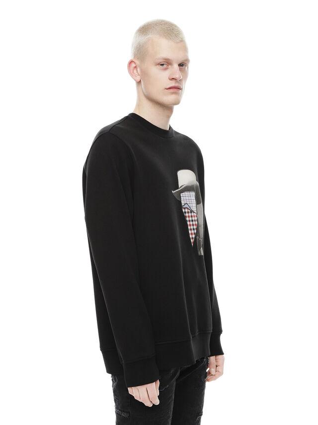 Diesel - SNEILB-PEZZABOY, Black - Sweaters - Image 3