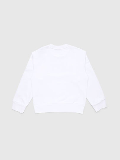 Diesel - SCREWDIVISION-LOGO O, White - Sweaters - Image 2