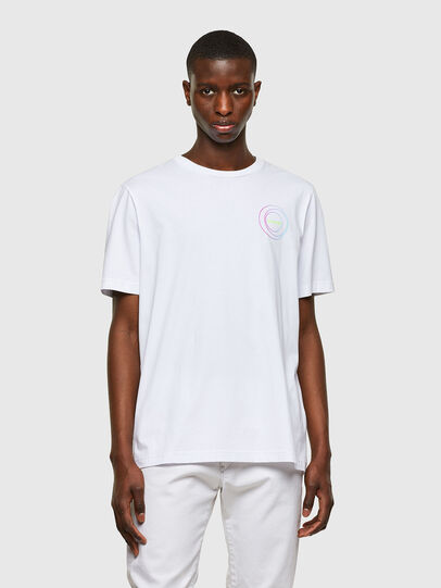 Diesel - T-JUST-E8, White - T-Shirts - Image 1