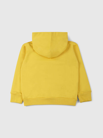 Diesel - SDIVISION OVER, Yellow - Sweaters - Image 2