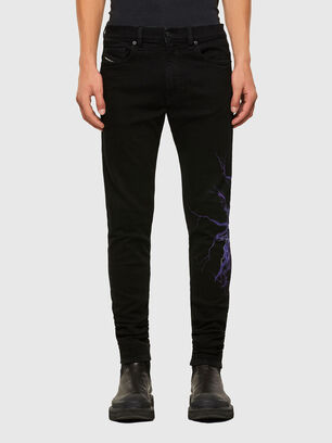 D-Amny 009KR, Black/Dark grey - Jeans
