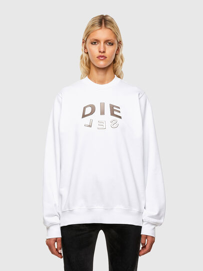 Diesel - F-ANG-R20, White - Sweaters - Image 1