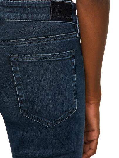 Diesel - Slandy Low 009QF, Dark Blue - Jeans - Image 4