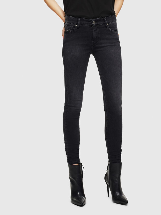 Slandy 069JW, Black/Dark grey - Jeans