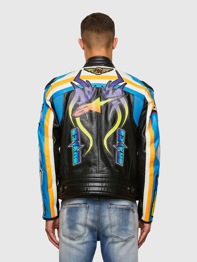 Diesel - ASTARS-LPATCH-1A-B,  - Leather jackets - Image 2