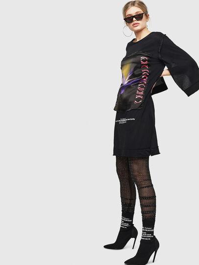 Diesel - D-PAIGEST, Black - Dresses - Image 5