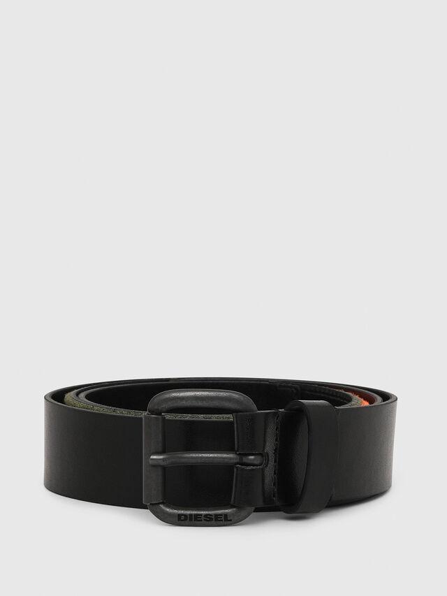 Diesel - B-COHARD, Black - Belts - Image 1