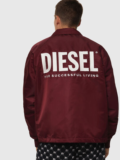 Diesel - J-AKIO-A, Bordeaux - Jackets - Image 2