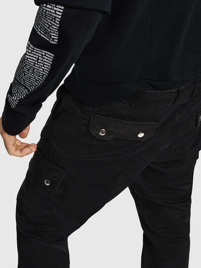 Diesel - P-PHANTOSKY, Black - Pants - Image 4