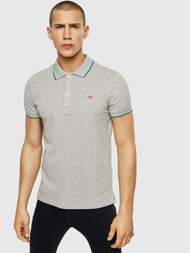 T-RANDY-NEW, Light Grey - Polos