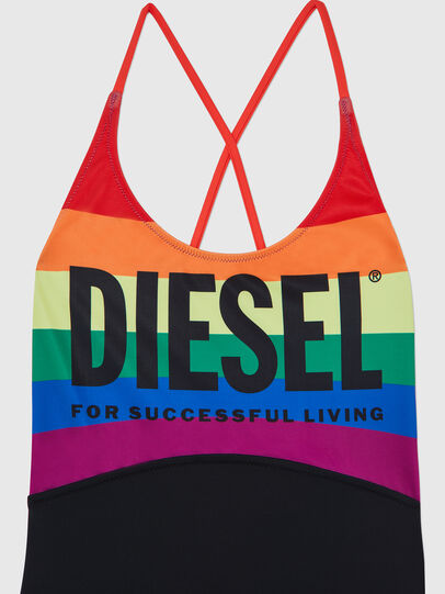 Diesel - BFSW-LACYZ-P, Black - Swimsuits - Image 3