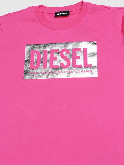 Diesel - TFOIL, Pink - T-shirts and Tops - Image 3