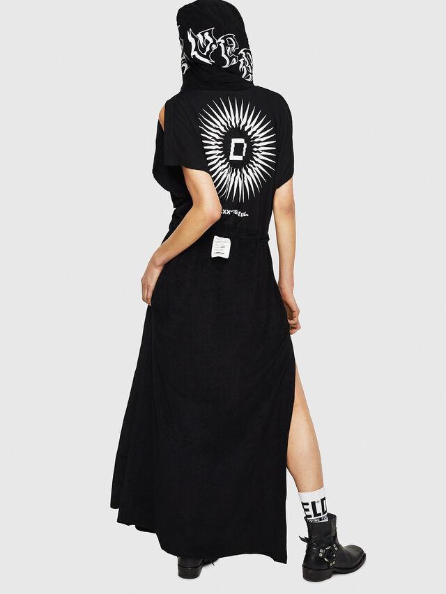 Diesel - D-LUNAI-A, Black - Dresses - Image 2