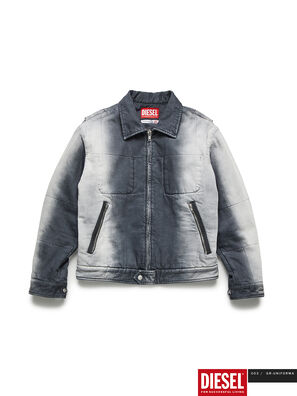 GR02-J301, Grey/White - Denim Jackets