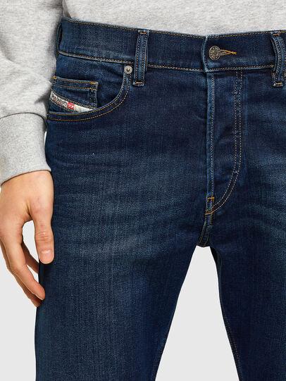Diesel - D-Luster 009ML, Dark Blue - Jeans - Image 4