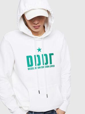 S-GIR-HOOD-A1, White - Sweaters