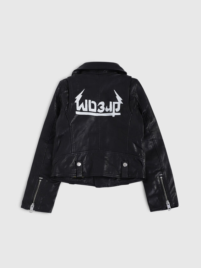 Diesel - JLWILL, Black Leather - Jackets - Image 2