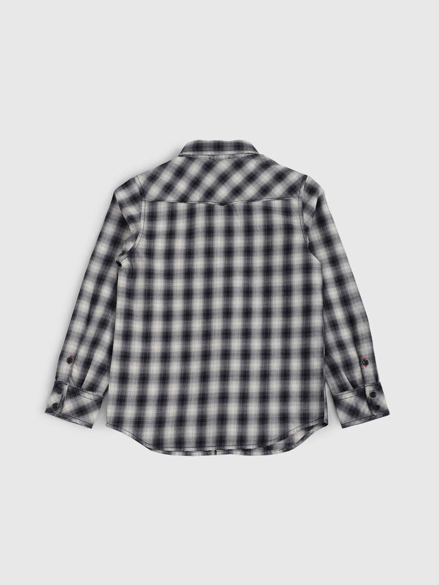 Diesel - CSEAST, Black/White - Shirts - Image 2