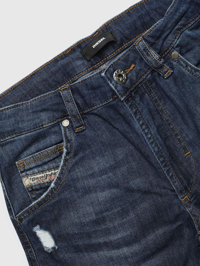 Diesel - PROOLI NEW-CUT SH, Medium blue - Pants - Image 3