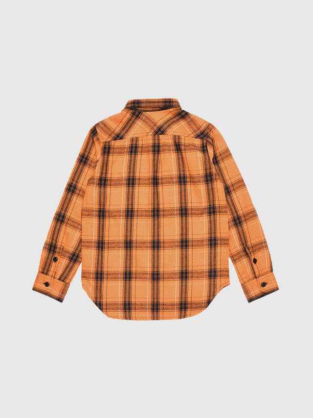 Diesel - COIZE, Orange/Black - Shirts - Image 2