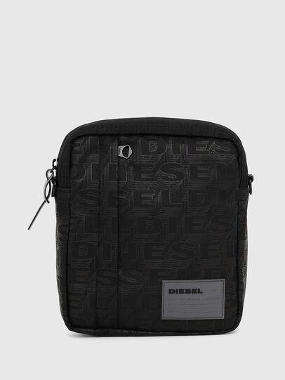 Diesel - ODERZO, Black - Crossbody Bags - Image 1
