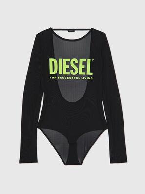 UFBY-VALERICK-LS-M, Black/Green - Bodysuits