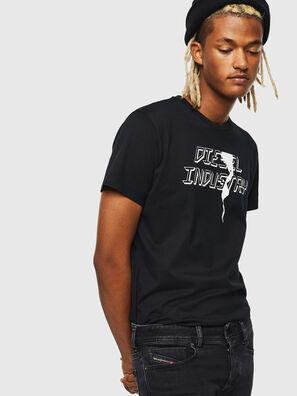 T-DIEGO-J25, Black - T-Shirts
