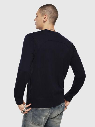 Diesel - K-LAUX, Dark Blue - Knitwear - Image 2