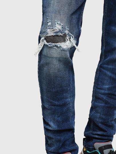 Diesel - Tepphar 0090G, Dark Blue - Jeans - Image 5