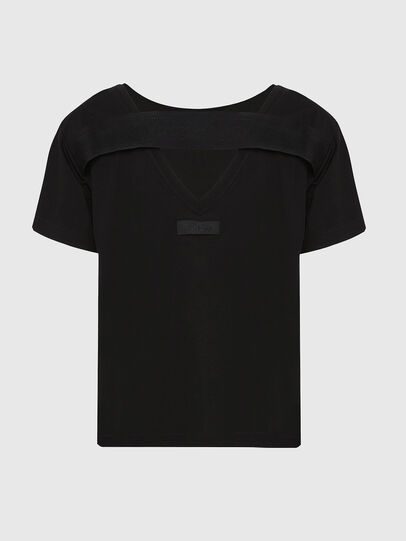 Diesel - T-RYLY, Black - T-Shirts - Image 2
