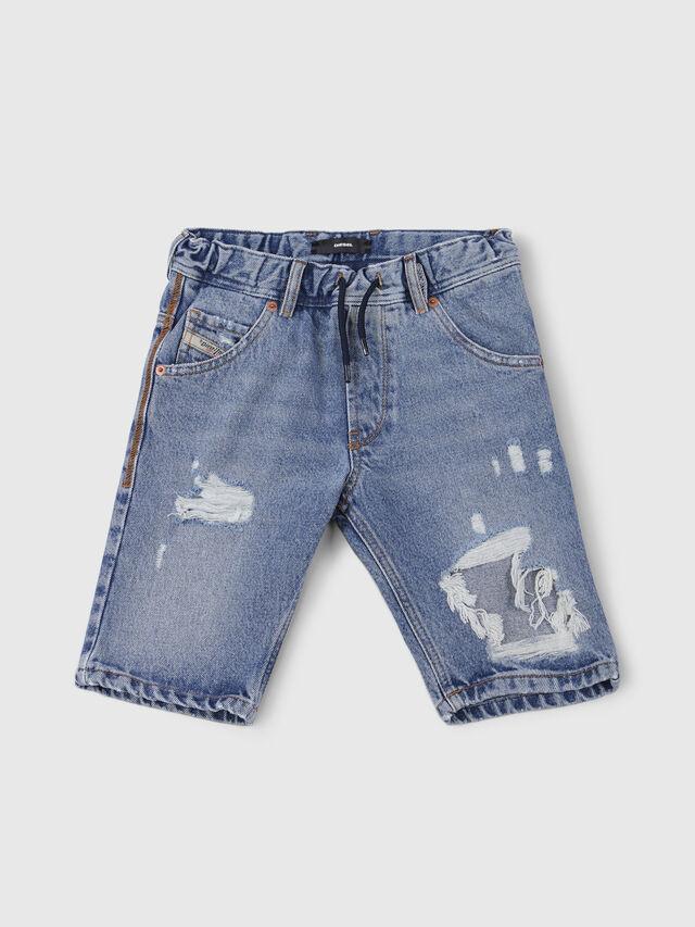 Diesel - KROOLEY-J SH JOGGJEANS, Light Blue - Shorts - Image 1