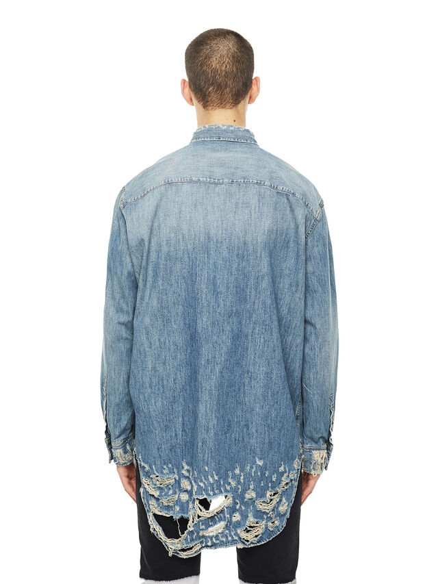 Diesel - SUVER-D, Blue Jeans - Shirts - Image 2