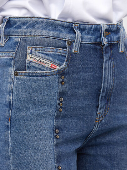 Diesel - D-Eiselle JoggJeans 009KP, Light Blue - Jeans - Image 4