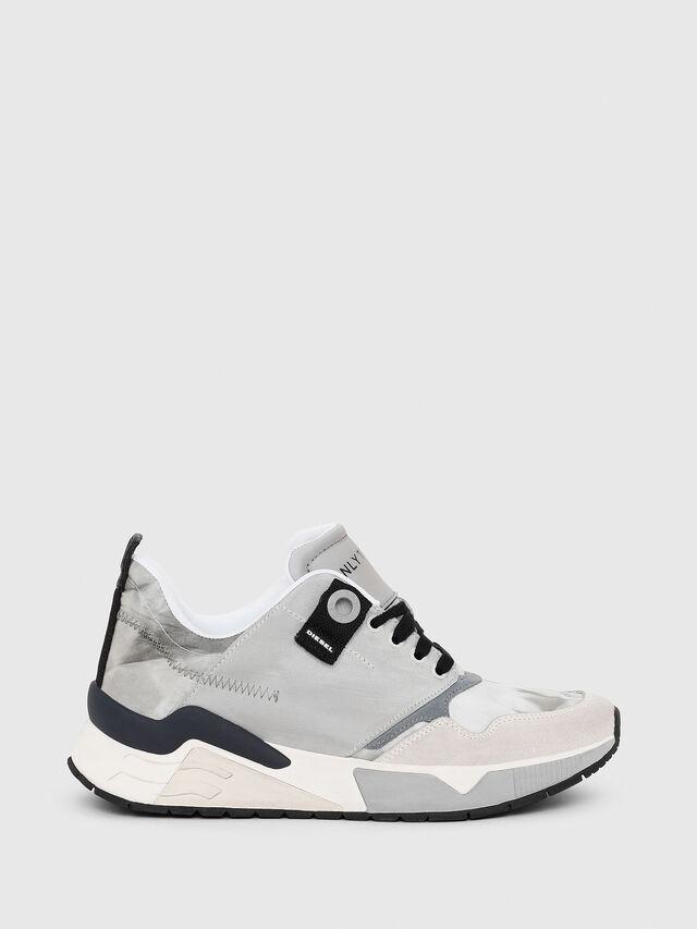 Diesel - S-BRENTHA LC, Light Grey - Sneakers - Image 1