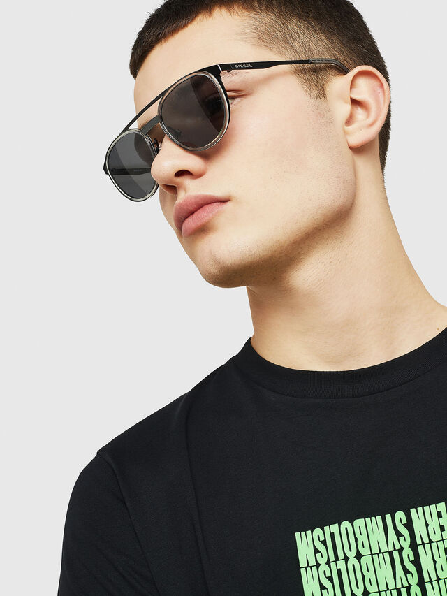 Diesel - DL0293, Black/Grey - Sunglasses - Image 6