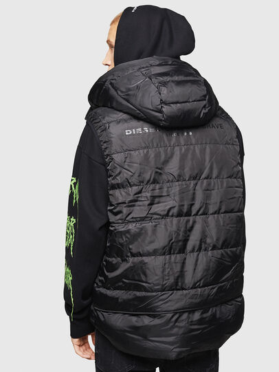 Diesel - W-SUN-REV-SLESS,  - Winter Jackets - Image 2