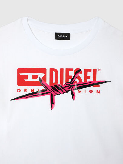 Diesel - TLISA, White - T-shirts and Tops - Image 3