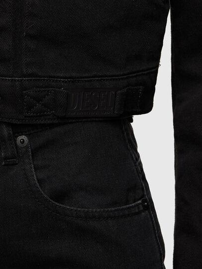 Diesel - DE-BLONDY, Black - Denim Jackets - Image 4