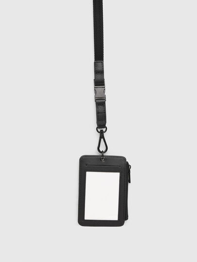 Diesel - CARRYBADGE, Black - Card cases - Image 2