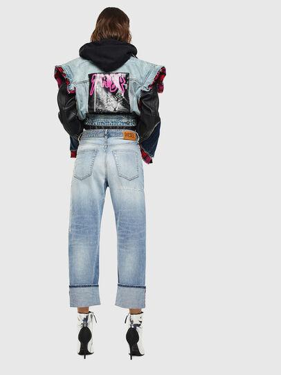 Diesel - D-Reggy 0098V, Light Blue - Jeans - Image 2