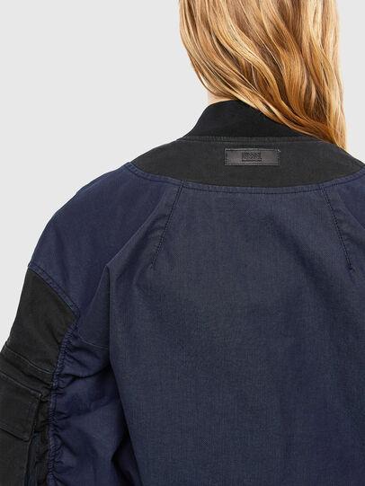 Diesel - D-STOK-SP JOGGJEANS, Black/Blue - Denim Jackets - Image 5