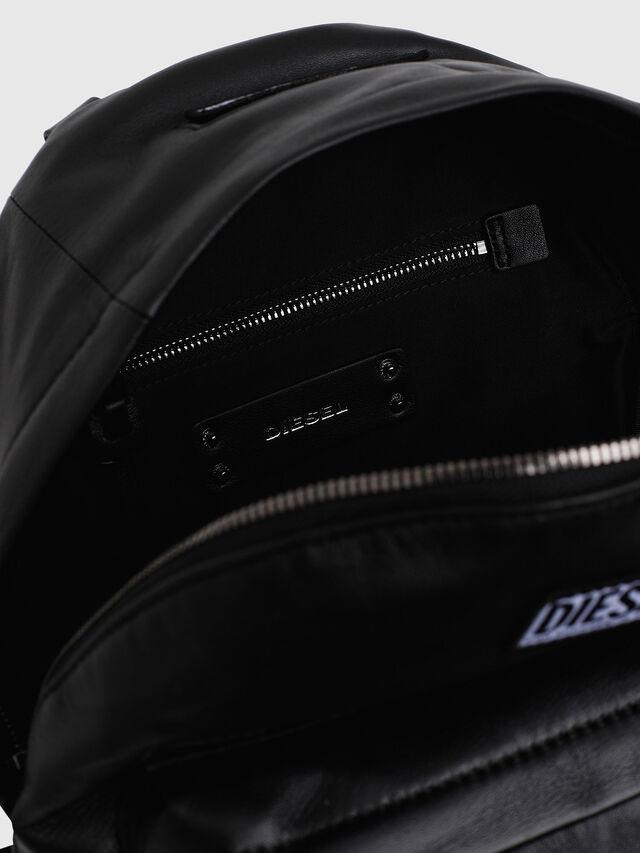 Diesel - LE-ZIPPER BACKPACK, Black - Backpacks - Image 4